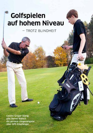 Golfspielen auf hohem Niveau