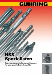 HSS Spezialisten - Gühring
