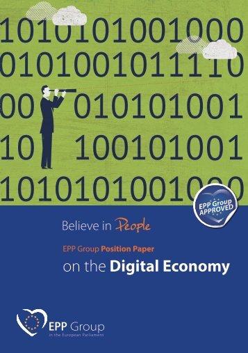 on the Digital Economy