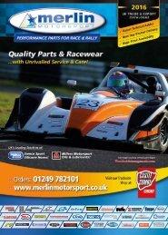 Merlin Motorsport Catalogue 2016