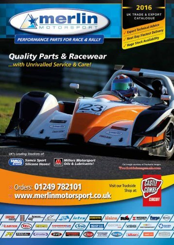 Merlin Motorsport Catalogue 2016