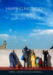 MAPPING MIGRATION MAPPING CHURCHES' RESPONSES IN EUROPE