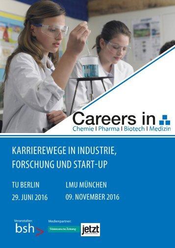 Vertriebskatalog Careers in CPBM 2016