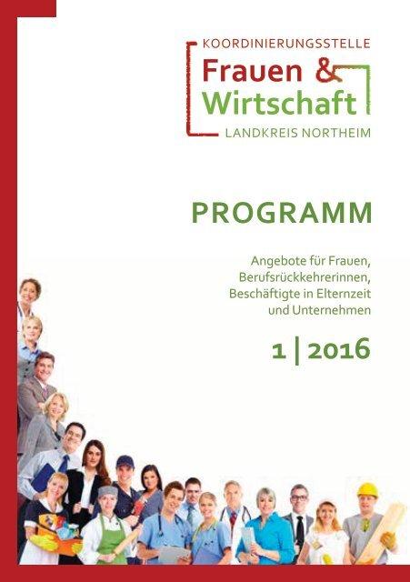 Programm 1.Halbjahr 2016 Koordinierungsstelle Frauen