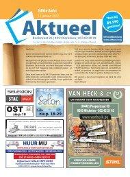Editie Aalst 13 januari 2016