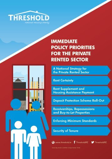 POLICY PRIORITIES FOR THE PRIVATE RENTED SECTOR