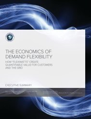 THE ECONOMICS OF DEMAND FLEXIBILITY