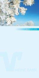 VRB Meine Bank Winter