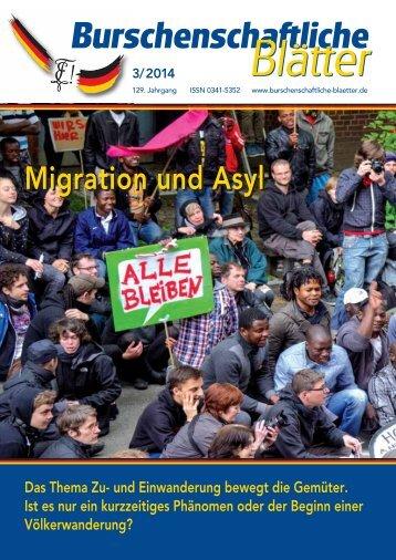 Burschenschaftliche Blätter 2014 - 3