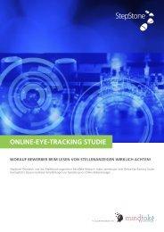 ONLINE-EYE-TRACKING STUDIE
