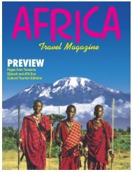Africa Travel Magazine - magazine of open skies, world airlines
