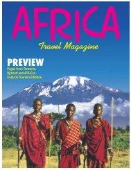 Africa Travel Magazine - magazine of open skies, world airlines