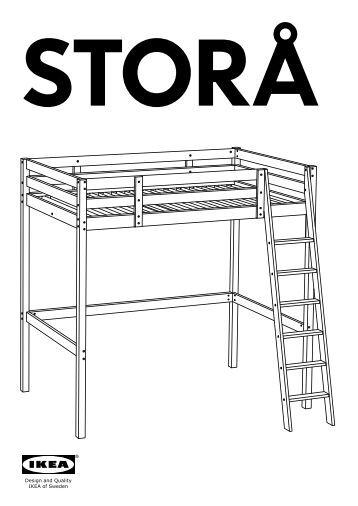 Il letto a soppalco motorizzato prodotti e soluzioni - Letto stora ikea ...