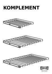 Istruzioni Montaggio Ikea Pax Ante Scorrevoli.Pax Komplement Ante Scorrevole Ikea