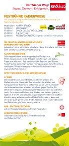 Infofolder zum Maifest 2011 im Prater - SPÖ Wien - Seite 5