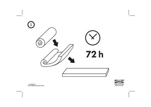 Poltrona Letto Ikea Lycksele.Ikea Lycksele Lovas Poltrona Letto S99849211 Istruzioni Montaggio