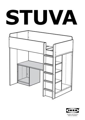 Robin letto a soppalco 90x200 cm istruzioni pdf - Letto soppalco ikea ...