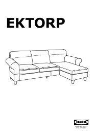 Ektorp Fodera Divano Letto 2 Posti.Ektorp Pdf 2 36mb Serie Di Divani In Tessuto Ikea