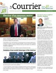 Le Courrier de Côte Saint-Luc (décembre 2015)
