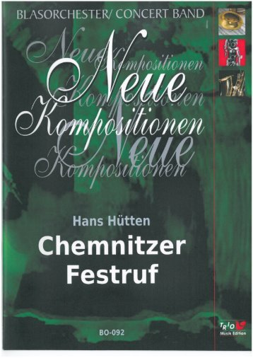 Chemnitzer Festruf - Demopartitur (BO-092)