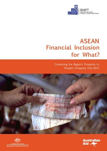 ASEAN Financial Inclusion for What?