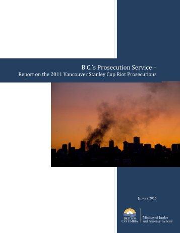 B.C.'s Prosecution Service –