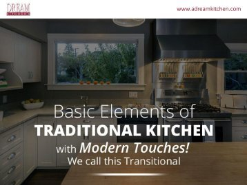 Transitional Kitchen Design in Winchester MA