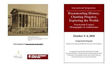 Documenting History, Charting Progress, Exploring the World: