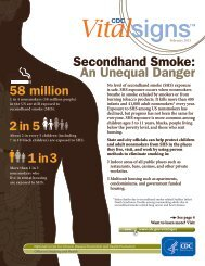 Secondhand Smoke An Unequal Danger 58 million 2 in 5 1 in 3