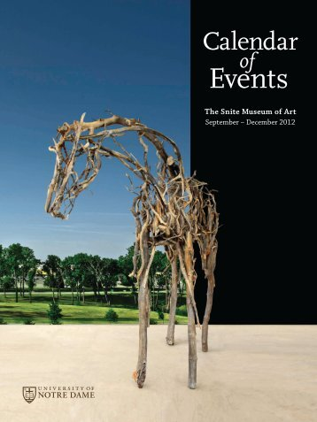 view the pdf of - Snite Museum of Art - University of Notre Dame