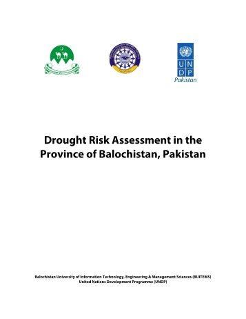 Province of Balochistan Pakistan