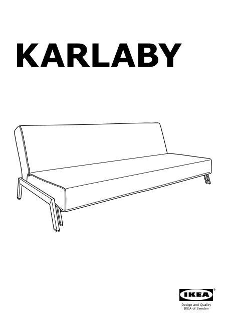 Kivik Divano Letto Ikea.Ikea Karlaby Karlskoga Divano Letto A 3 Posti S49926527
