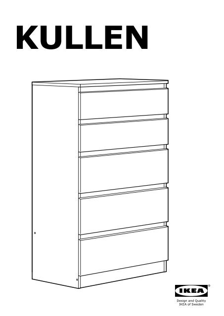 Cassettiera Malm Ikea Istruzioni Montaggio.Mobili Ikea Kullen