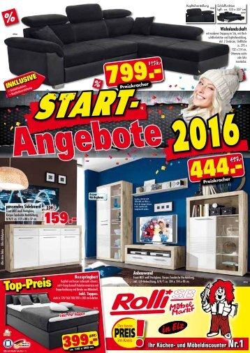 Start-Angebote: Preiskracher 2016!