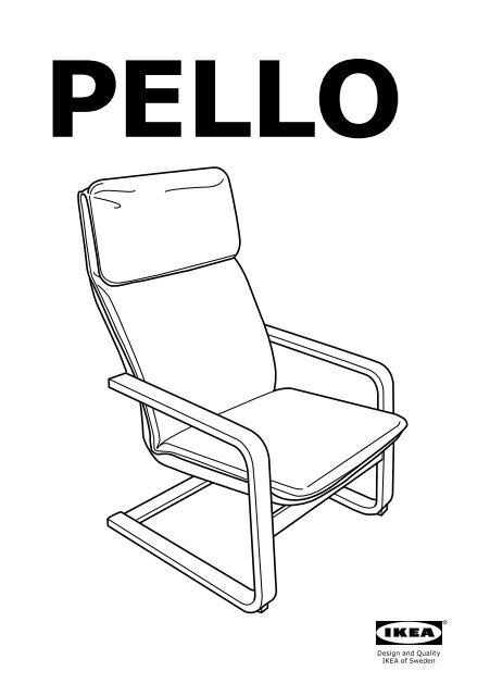 Poltrone Di Ikea.Ikea Pello Poltrona 50078464 Istruzioni Di Montaggio