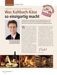 Was Kaltbach-Käse so einzigartig macht - RUNDSCHAU für den ...