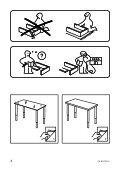 Ikea KALLAX combinazione con scrivania - S79123055 - Istruzioni di montaggio - Page 4