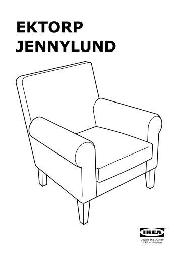 Jennylund magazines for Ikea poltrona ektorp