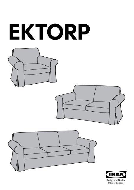 Ektorp Divani E Poltrone.Ikea Ektorp Fodera Per Divano A 3 Posti 80047602 Istruzioni