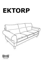 Ikea Ektorp Divano Letto A 3 Posti.Ektorp Pdf 2 36mb Serie Di Divani In Tessuto Ikea