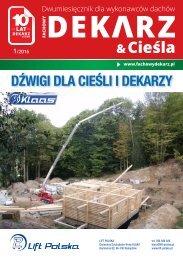 Fachowy Dekarz & Cieśla 1/2016