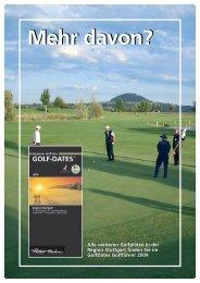 Golf-Dates 2009