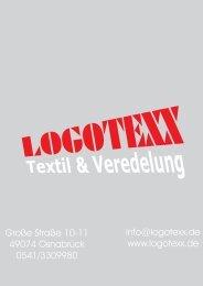Logotexx Poloshirts mit Elasthangehalt