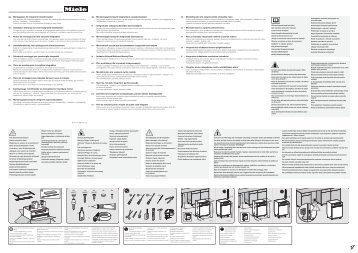Miele G 6200 SCi - Schema di montaggio