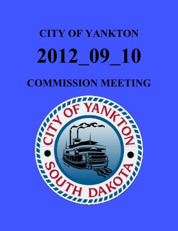 yankton board of city commissioners - City of Yankton