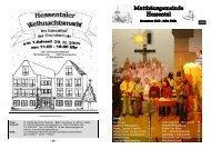 Advent 2008 farbig - Ev. Matthäusgemeinde Hessental