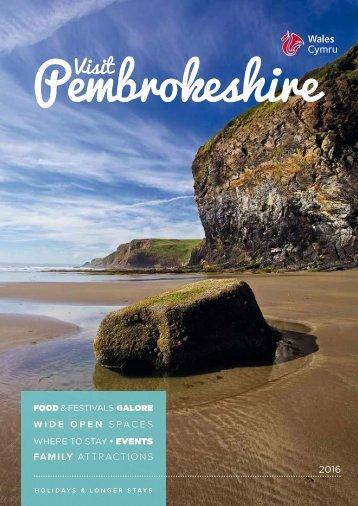 Visit Pembrokeshire 2016
