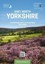 Visit North Yorkshire 2016