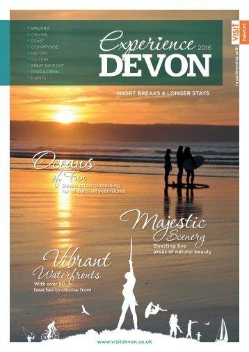 Experience Devon 2016