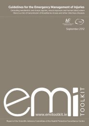 EMI - Guidelines for the emergency management of injuries